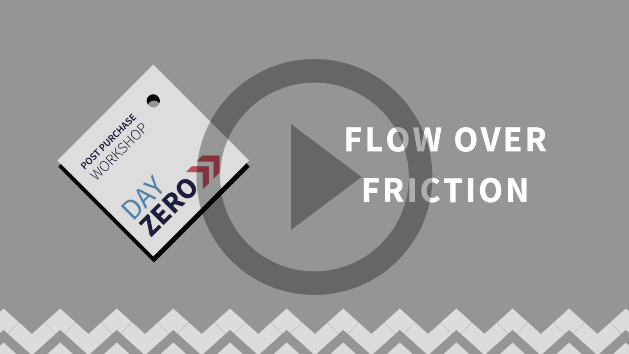 Flow over friction